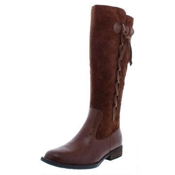 Born Womens Cook Riding Boots Solid Knee-High