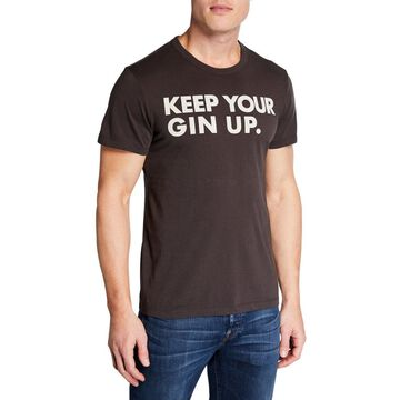 Men's Keep Your Gin Up Cotton T-Shirt