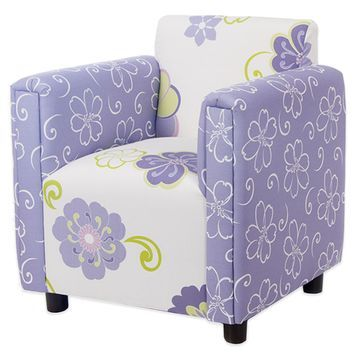 Glenna Jean Lulu Upholstered Child's Chair