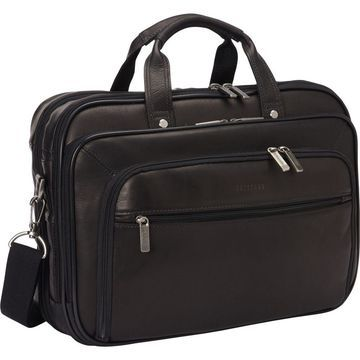 Heritage Colombian Leather Checkpoint-Friendly Briefcase
