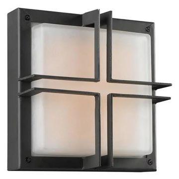 PLC Lighting 8026BZLED Plc 1 Light Outdoor Fixture Piccolo Collection