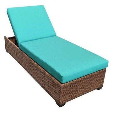 TK Classics Laguna Wicker Patio Lounge, Aruba