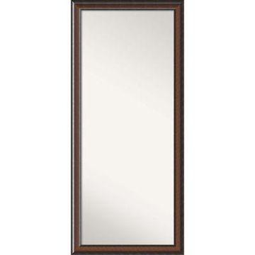 Amanti Art Cyprus Floor Mirror in Walnut