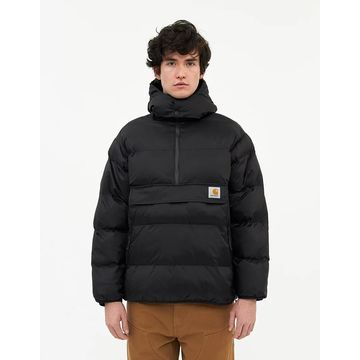 Jones Nylon Pullover in Black