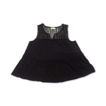Style & Co Embroidered Sleeveless Tunic, Created for Macy's