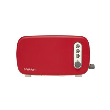 BergHOFF 2Pc Side Loading Toaster with Red Panel