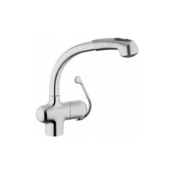 Grohe 33759SD0 High Profile Pull Out In Stainless Steel