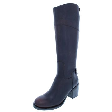 Patricia Nash Womens Loretta Leather Over-The-Knee Riding Boots