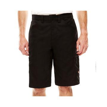 Red Kap Scratchless Shop Flat-Front Shorts