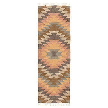 Mojave Indoor/Outdoor Runner Rug by Jaipur - Color: Brown (RUG141304)