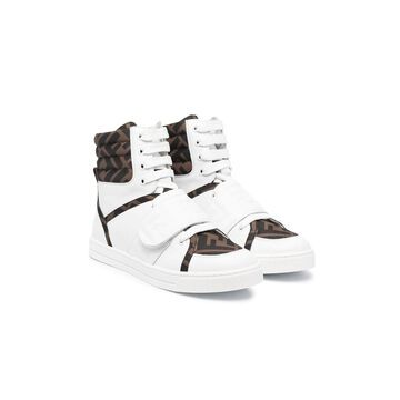 Fendi Sneakers With Ff Logo