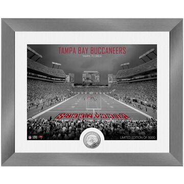 Tampa Bay Buccaneers Highland Mint 13'' x 16'' Art Deco Stadium Silver Coin Photo Mint