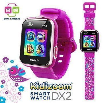 VTech Kidizoom Smartwatch DX2 Special Edition Floral Birds with Bonus Vivid