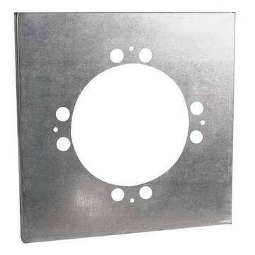 Adapter,22-1/8 In Round to 24 In Square