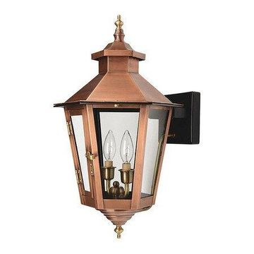 ACCLAIM LIGHTING 7771CP Wall Light,2-Light,Copper Patina