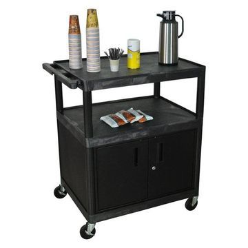 Luxor Serving Cart - HE40C-B