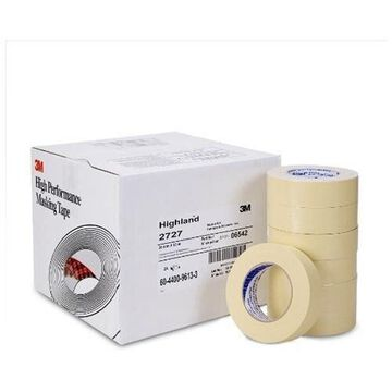 3m 3MM-6542CS Highland Masking Tape 2727, 36 Mm X 55 M