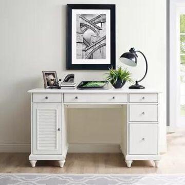 Crosley Furniture Palmetto Desk in White