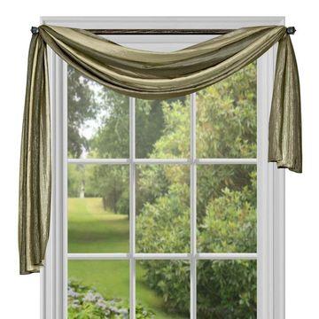 Achim Ombre Window Curtain Scarf