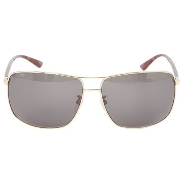 Gucci Black Metal Sunglasses