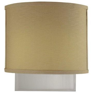 Volume Lighting Calare 2-Light Brushed Nickel Wall Sconce