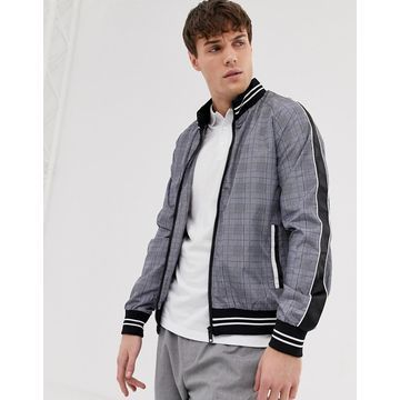 Brave Soul check bomber with taping