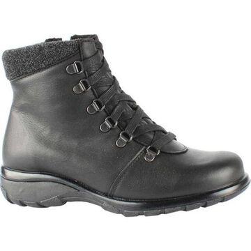 Toe Warmers Women's Yukon Waterproof Ankle Boot Black Leather