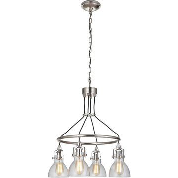 Craftmade 51224-PLN State House Chandelier Polished Nickel