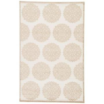 Jaipur Fables Mythical 9-Foot x 12-Foot Area Rug in Ivory/Tan
