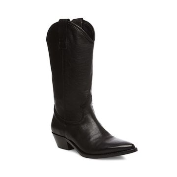 Steven by Steve Madden Womens Luca Leather Closed Toe Ankle Fashion Boots - 7
