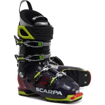 Made in Italy Freedom SL 120 Alpine Touring Ski Boots (For Men) - ANTHRACITE/RED ORANGE (26 )