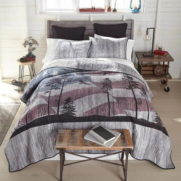 Donna Sharp Free Bird Cotton Quilt Set (King)
