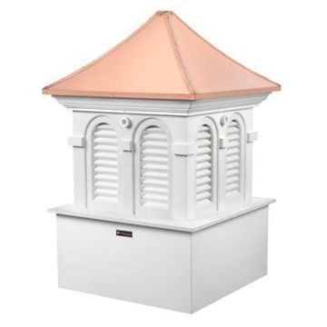 Good Directions Smithsonian Collection Alexandria 47-Inch Cupola in White/Copper