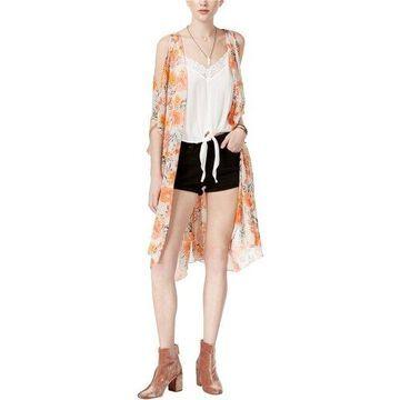 American Rag Womens Cold Shoulder Kimono Sweater