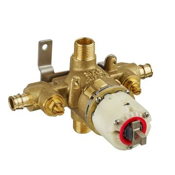 American Standard R128SS Pressure Balance Rough-in with PEX Inlets/Universal out Showers Shower Valves