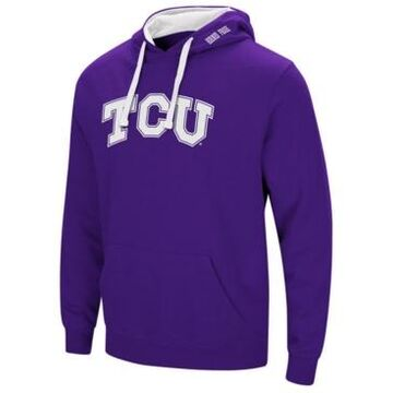 Colosseum Men's Texas Christian Horned Frogs Arch Logo Hoodie