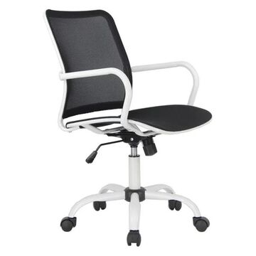 Fine Mod Imports Spare Office Chair, Black