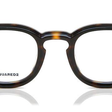Dsquared2 DQ5246 052 Men's Glasses Tortoiseshell Size 46 - Free Lenses - HSA/FSA Insurance - Blue Light Block Available