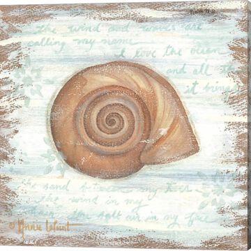 Metaverse Art Ocean Snail Canvas Wall Art