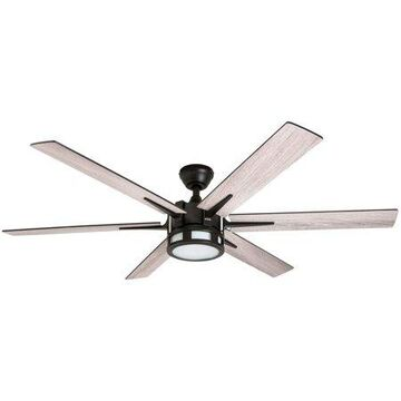 Honeywell Kaliza 56-Inch Espresso Bronze Indoor LED Ceiling Fan with Remote