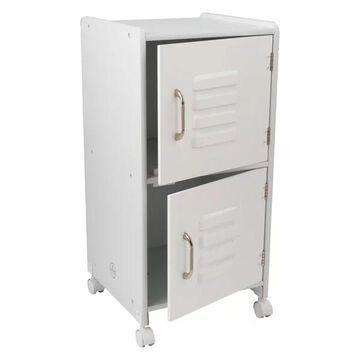 KidKraft Medium Locker in White