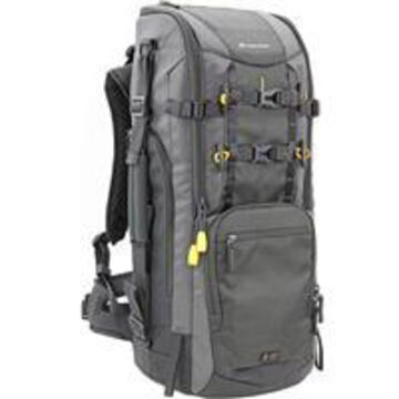 Vanguard Alta Sky 66 Backpack for Super Telephoto Lens Up to 600mm (f/4.0) Some 800mm (f/5.6) Attached to a Pro DSLR Camera, Dark Gray