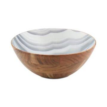 Thirstystone Wood & Enamel Large Bowl