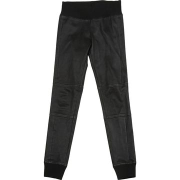 Paco Rabanne Black Leather Trousers