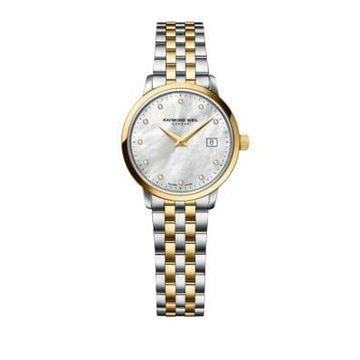 Toccata Silver and Goldtone Diamond Watch
