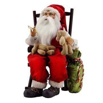 Northlight 14.75-in. Animated Santa Christmas Decor
