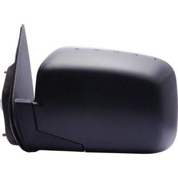 63032H - Fit System Driver Side Mirror for 06-14 Honda Ridgeline, textured black, foldaway, Power