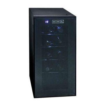 Koolatron 10-Bottle Touch Control Wine Cellar in Black