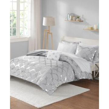 Intelligent Design Lorna Queen 8 Piece Comforter and Sheet Set Bedding