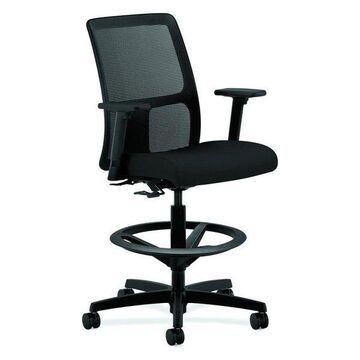 Hon Ignition Task Stool Chair,, Black, Hits5